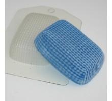 Вязаное, пластиковая формочка для мыла