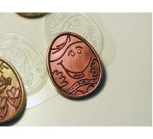 Шокояйца детская радость, пластиковая форма для шоколада