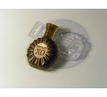 Коньяк ХО, пластиковая форма для мыла Россия
