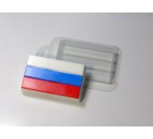 Триколор 1, пластиковая формочка для мыла