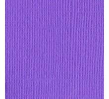 Бумага для скрапбукинга однотонная с текстурой холста, цвет аметистовый