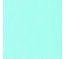 Бумага для скрапбукинга однотонная с текстурой льна, цвет бледный циан