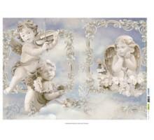 Бумага рисовая для декупажа Ангелы,  50х70 см