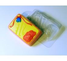 Любимой учительнице, форма для мыла пластик
