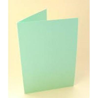 Заготовка для открытки А6 двойная (зеленый)