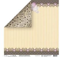 Бумага для скрапбукинга Mr.Painter PSG расцветка 190-403 (свадьба)