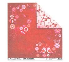 Бумага для скрапбукинга Mr.Painter PSG расцветка 190-199 (Любовь)