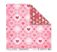 Бумага для скрапбукинга Mr.Painter PSG расцветка 190-200 (Любовь)