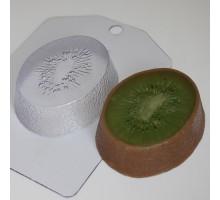 Киви, пластиковая формочка для мыла