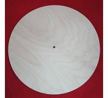Циферблат для часов круглый, 40 см, фан 4 мм