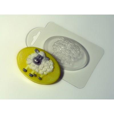 Бараш-кудряш, форма для мыла пластиковая
