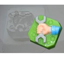 Механик, пластиковая формочка для мыла