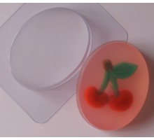 Овал малый , пластиковая формочка для мыла