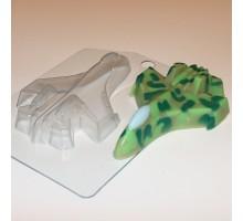 Самолет, пластиковая формочка для мыла