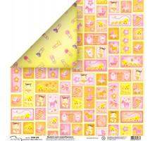 Бумага для скрапбукинга Mr.Painter PSW расцветка 328