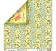 Бумага для скрапбукинга Mr.Painter PSW расцветка 395