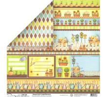 Бумага для скрапбукинга Mr.Painter PSW расцветка 396