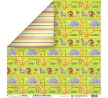 Бумага для скрапбукинга Mr.Painter PSW расцветка 413