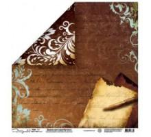 Бумага для скрапбукинга Mr.Painter PSW расцветка 011