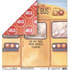 Бумага для скрапбукинга Mr.Painter PSW расцветка 230-136