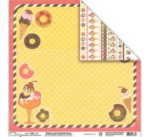 Бумага для скрапбукинга Mr.Painter PSW расцветка 355 (сладости)