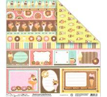 Бумага для скрапбукинга Mr.Painter PSW расцветка 360 (сладости)