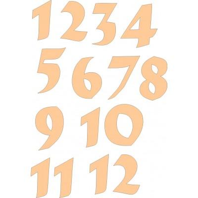 Набор цифр для часов 2,5 см №2