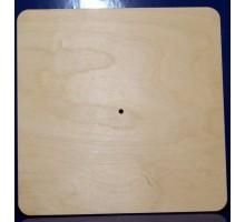 Циферблат квадратный, 25 см 6 см