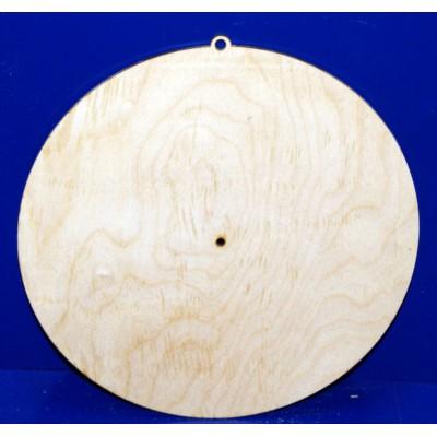 Циферблат для часов круглый, 25 см,фан.h-4 мм