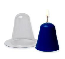 Простая пластиковая форма для свечи(Конус сфера)