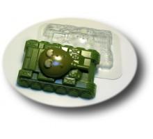 ТанкМФ , пластиковая форма для мыла,Россия