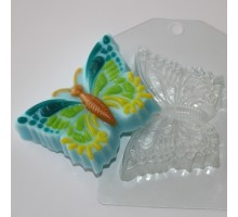 Бабочка, форма для мыла пластиковая