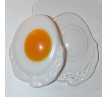 Яичница, форма для мыла пластиковая