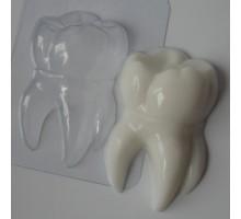 Зубик, форма для мыла пластиковая