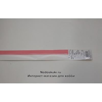 """Бумага для квиллинга 7 мм на 350 мм, цвет 10 """"Розовый"""