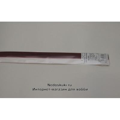 Бумага для квиллинга 5 мм на 350 мм, цвет 16 Темно красный