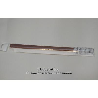 Бумага для квиллинга 5 мм на 350 мм, цвет 33 Ореховый