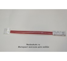 """Бумага для квиллинга 7 мм на 350 мм, цвет 15 """"Красный"""""""